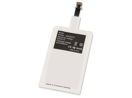 Приемник Qi для беспроводной зарядки телефона, Lightning фото