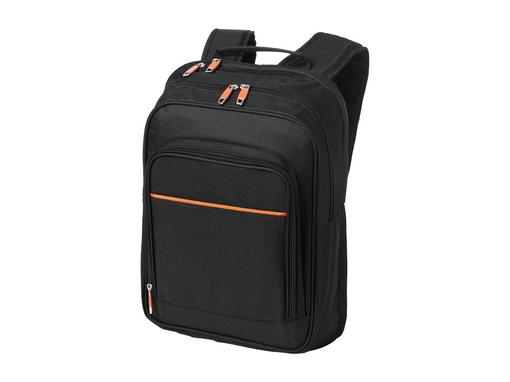 Рюкзак Harlem с отделением для ноутбука 14, черный, оранжевый фото