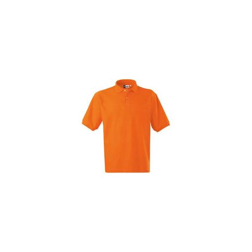 Рубашка поло US Basic Boston мужская оранжевый, оранжевый фото