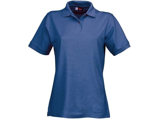 Рубашка поло Boston женская, синий фото