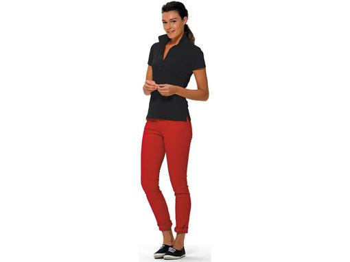 Рубашка поло US Basic First женская, черный фото