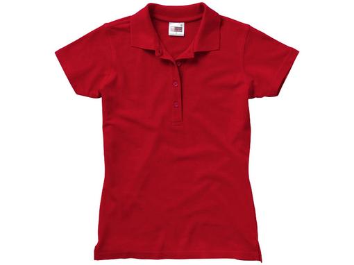 Рубашка поло First C женская, красный фото