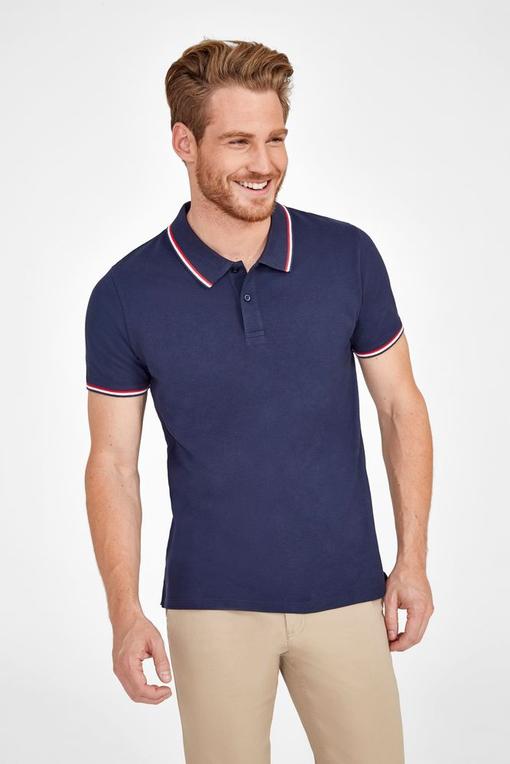 Рубашка поло мужская Prestige Men, белая фото