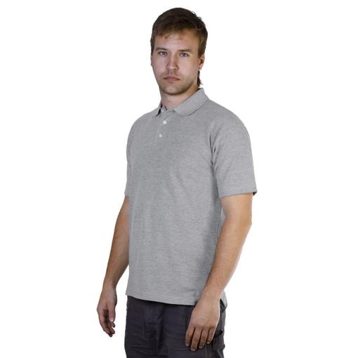 Рубашка поло Unit Virma, серый меланж фото