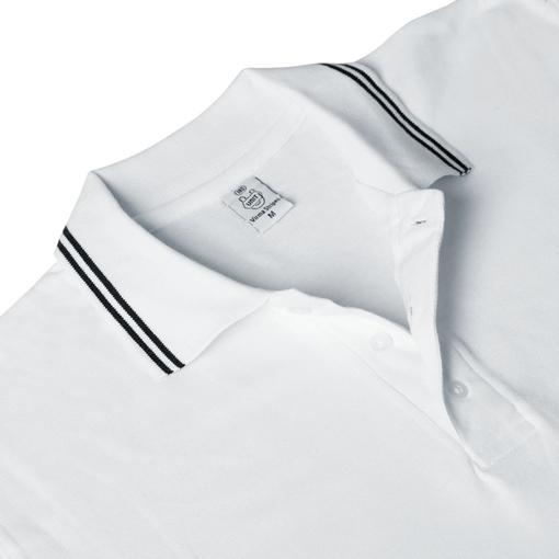 Рубашка поло Virma Stripes, белая фото