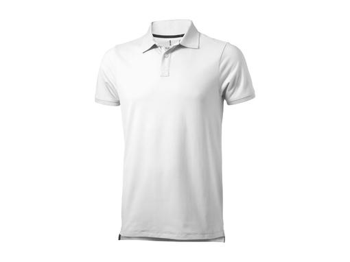 Рубашка-поло Yukon мужская, белый фото