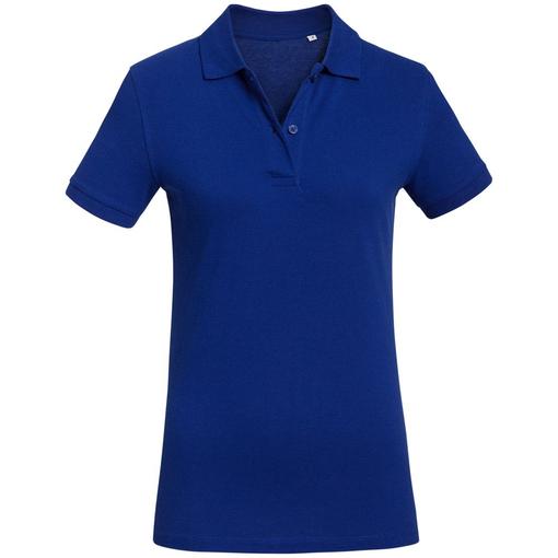 Рубашка поло женская Inspire синяя фото