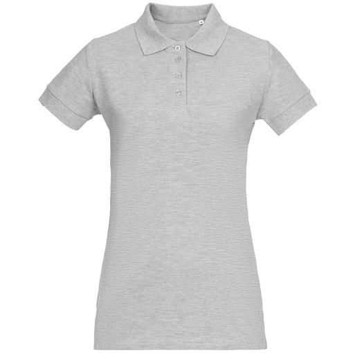 Рубашка поло женская Virma Premium Lady, серый меланж фото