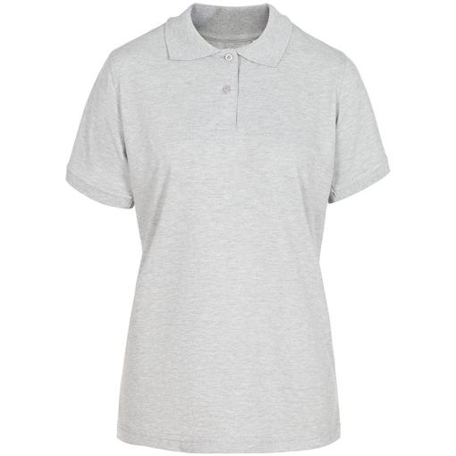 Рубашка поло женская Virma Stretch Lady, серый меланж фото