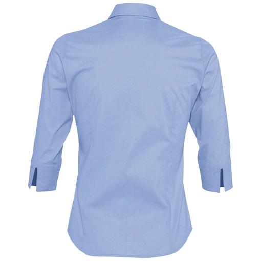 Рубашка женская с рукавом 3/4 EFFECT 140 голубая фото