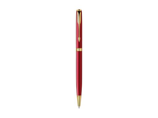 Ручка Parker шариковая тонкая «Sonnet Red GT» фото
