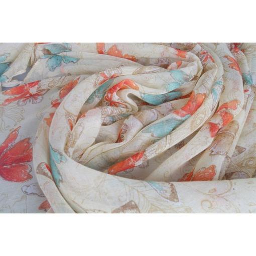 Шарф-платок Бабочки от Carlo Pazolini фото