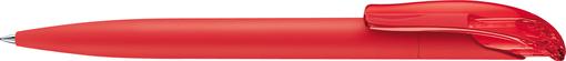 Шариковая ручка Challenger Soft Touch, красная фото