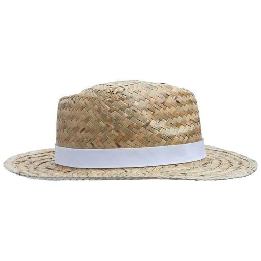 Шляпа Daydream, бежевая с белой лентой фото