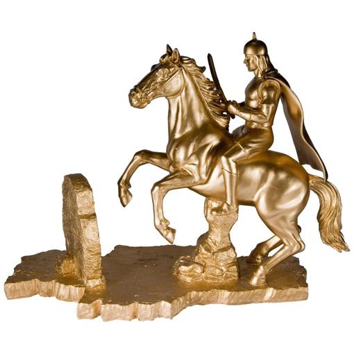 Скульптура Верный путь в твоих руках, золотой фото