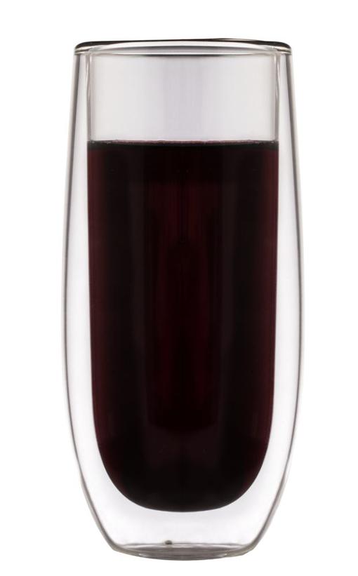 Стакан с двойными стенками Glass Vine, прозрачный фото