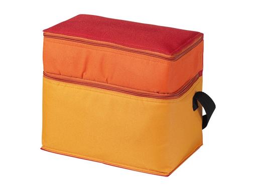 Сумка-холодильник Trias, красный/ оранжевый фото