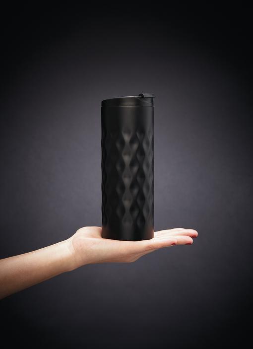 Термокружка Geometric, 350 мл, черный фото