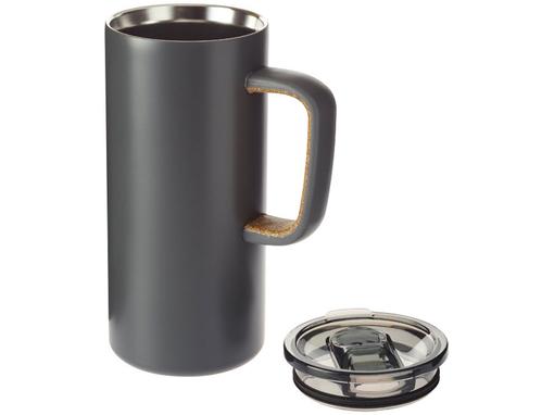 Вакуумная кружка Valhalla, серебряный/серый фото