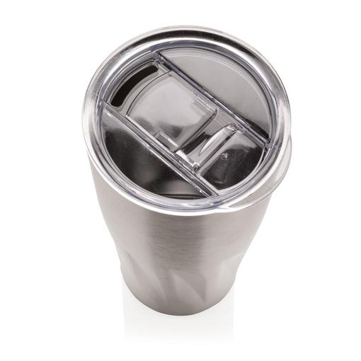 Вакуумная термокружка Copper, серебряный фото