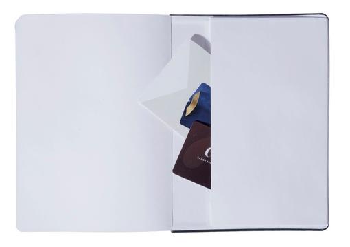 Записная книжка FREENOTE, в клетку, черная фото
