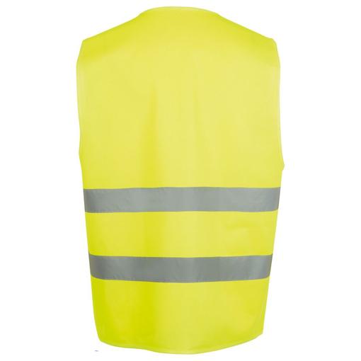 Жилет светоотражающий SECURE PRO, желтый неон фото