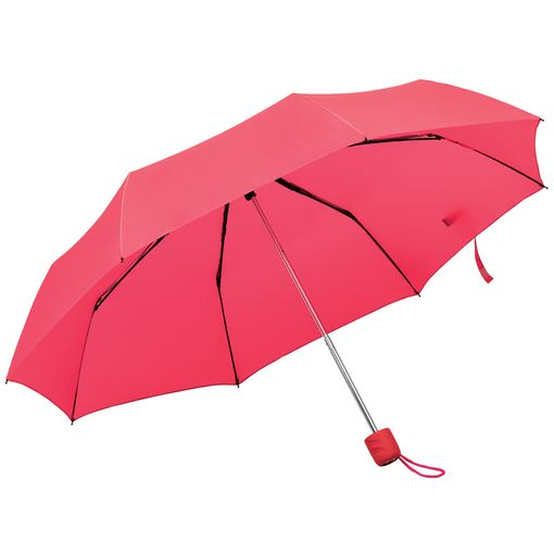 Зонт складной Foldi, механический, красный фото