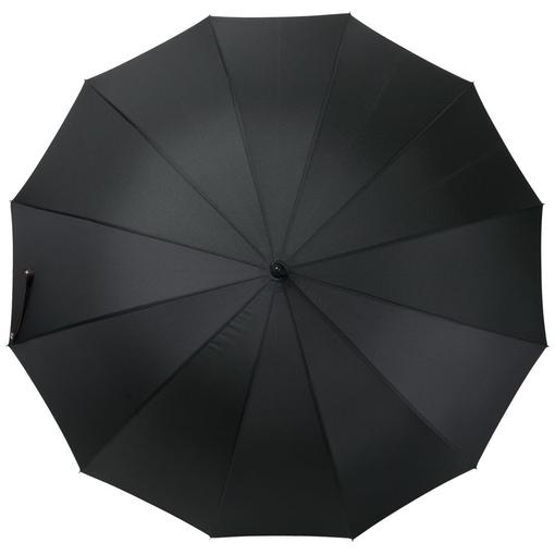 Зонт трость механический Matteo Tantini Lui, черный/ красный фото