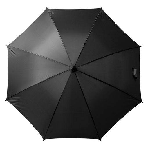 Зонт-трость Unit Promo, черный фото