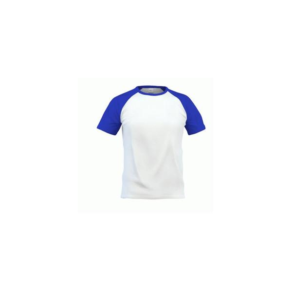 Футболка мужская StanCity, белая / синяя