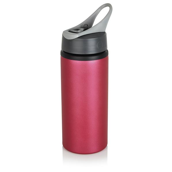 Бутылка для воды спортивная 600 мл, бордо