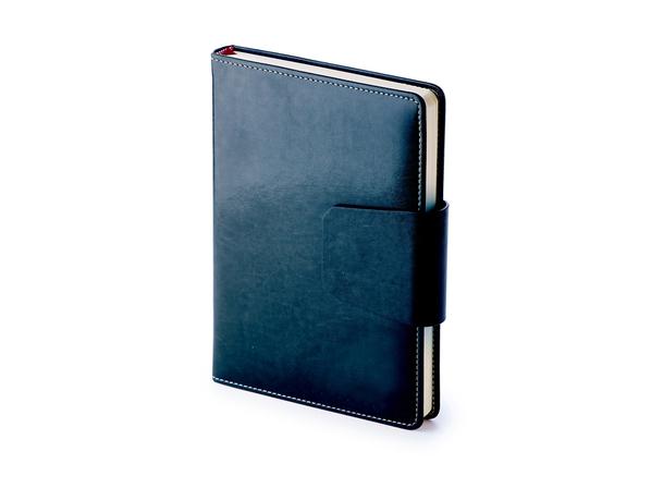 Ежедневник недатированный Prestige А5, темно-синий