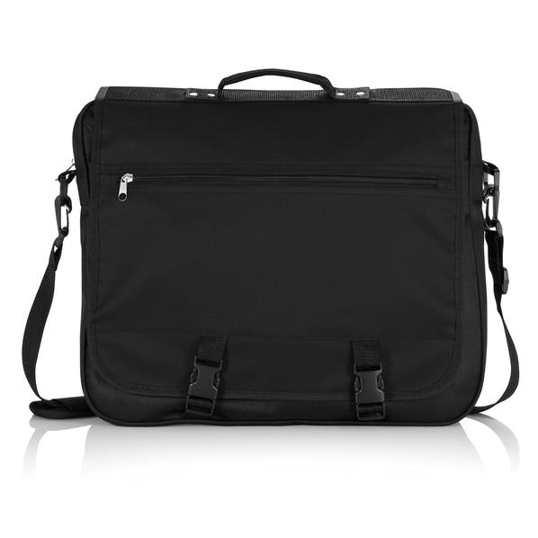 Конференц-сумка, черный, черный