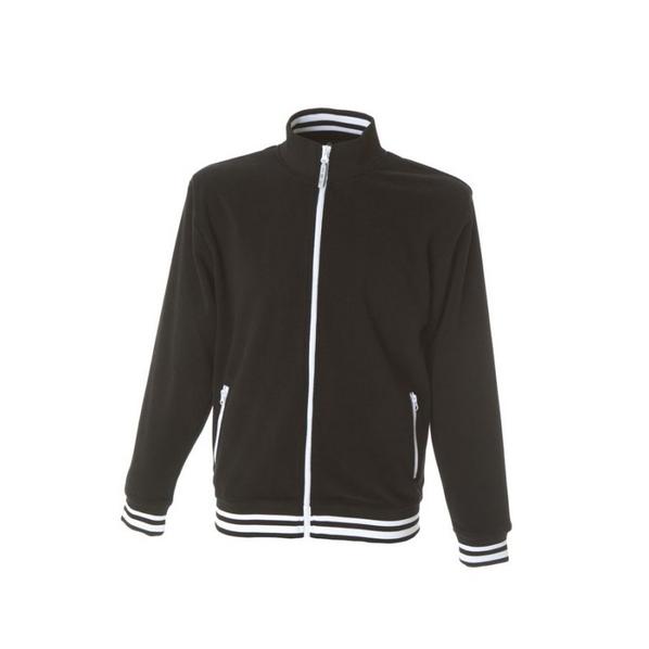 Куртка флисовая NORVEGIA на молнии, размер 3XL, черный