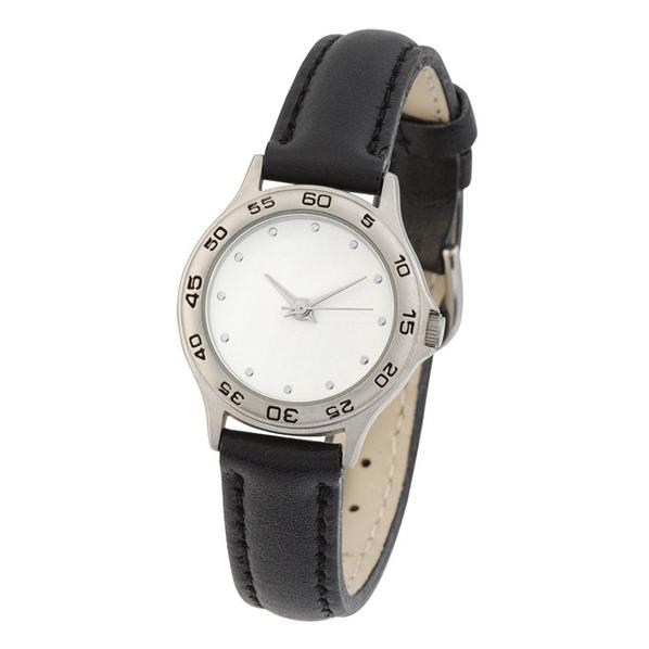 Часы наручные женские, черный/ белый, серый