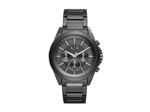 Часы наручные Armani Exchange, мужские, d44, черный
