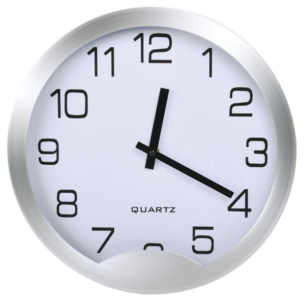 Часы настенные Мегаполис, D=30 см, H=4 см, металл, без элементов питания
