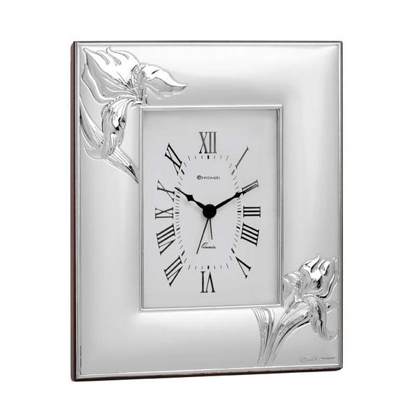 Часы настольные Ирис, серый