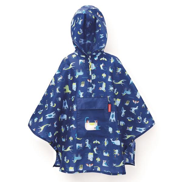 Дождевик в чехле детский Reisenthel Friends Blue, синий