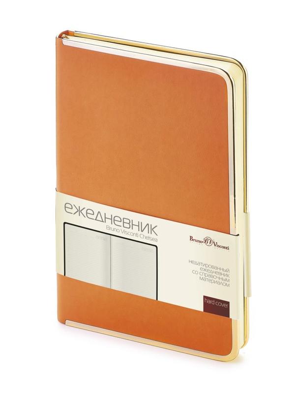 Ежедневник недатированный Chelsea, оранжевый