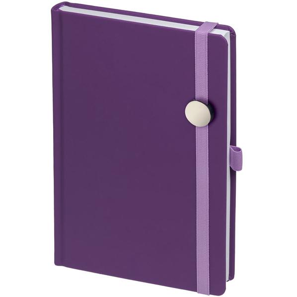 Ежедневник Favor Metal, недатированный, фиолетовый