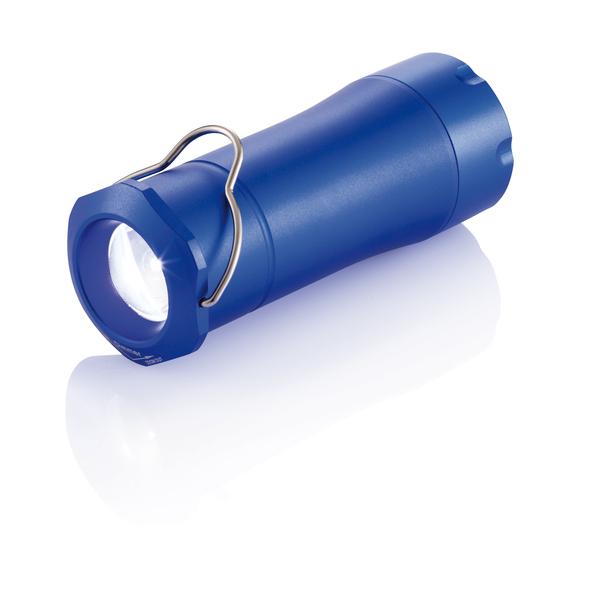 Фонарик-лампа для кемпинга, синий