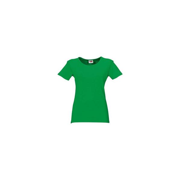 Футболка женская US Basic Hawaii, зеленая