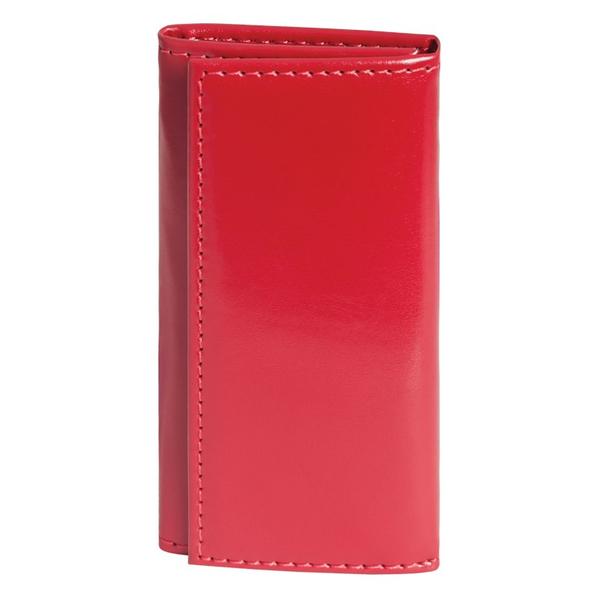 Футляр для ключей, 60х120 мм, красный