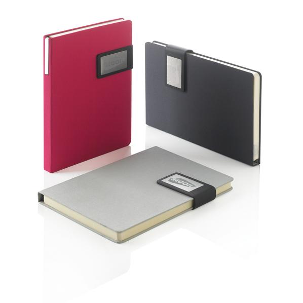 Набор Prestige: блокнот формата А5 и шариковая ручка, розовый
