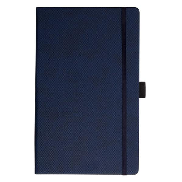 Записная книга с кармашком Portobello RIGEL, линейка, 9*14см, синий