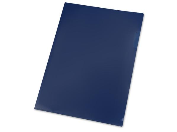 Папка уголок А4, синий
