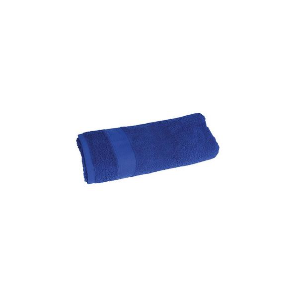 Полотенце махровое большое, синий