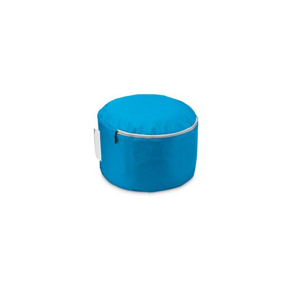 Пуфик надувной, небесно-синий
