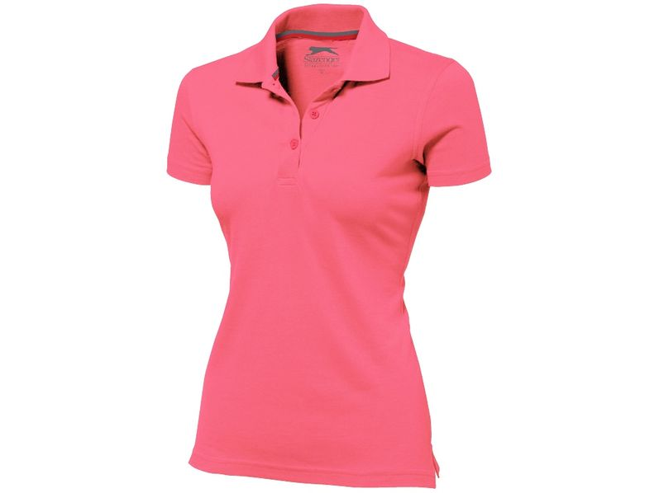 Рубашка поло женская Slazenger Advantage, розовая
